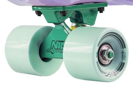 Penny board Nils Fishboard Basic Lilac