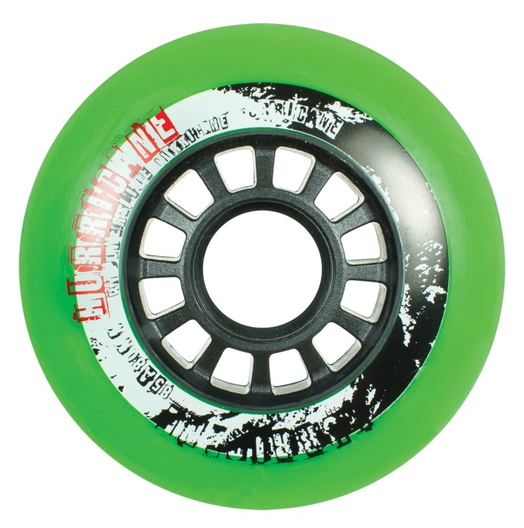 Kolečka na brusle Powerslide Hurricane Green 80mm (4ks)