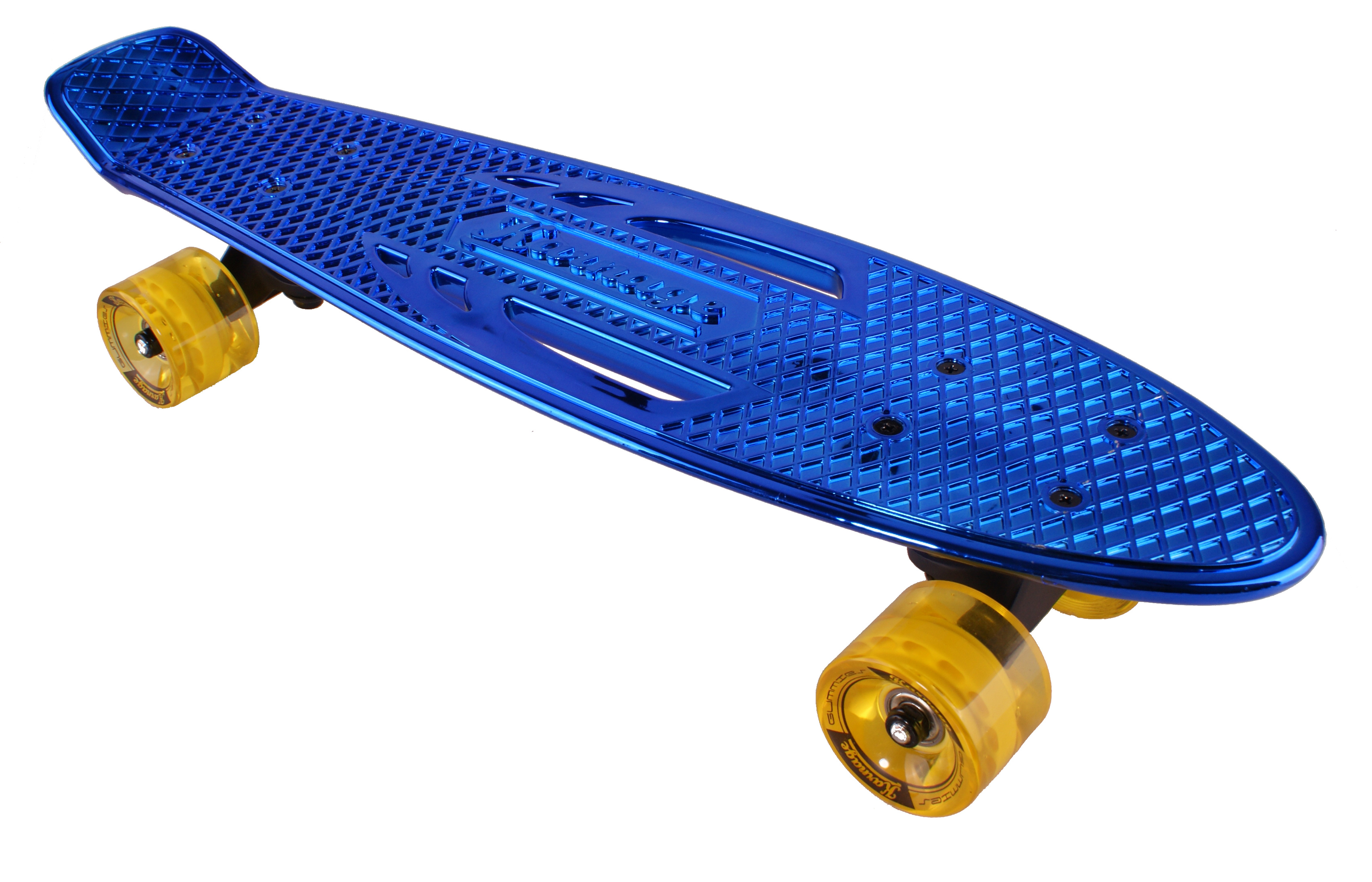 Pennyboard Karnage Chrome blue