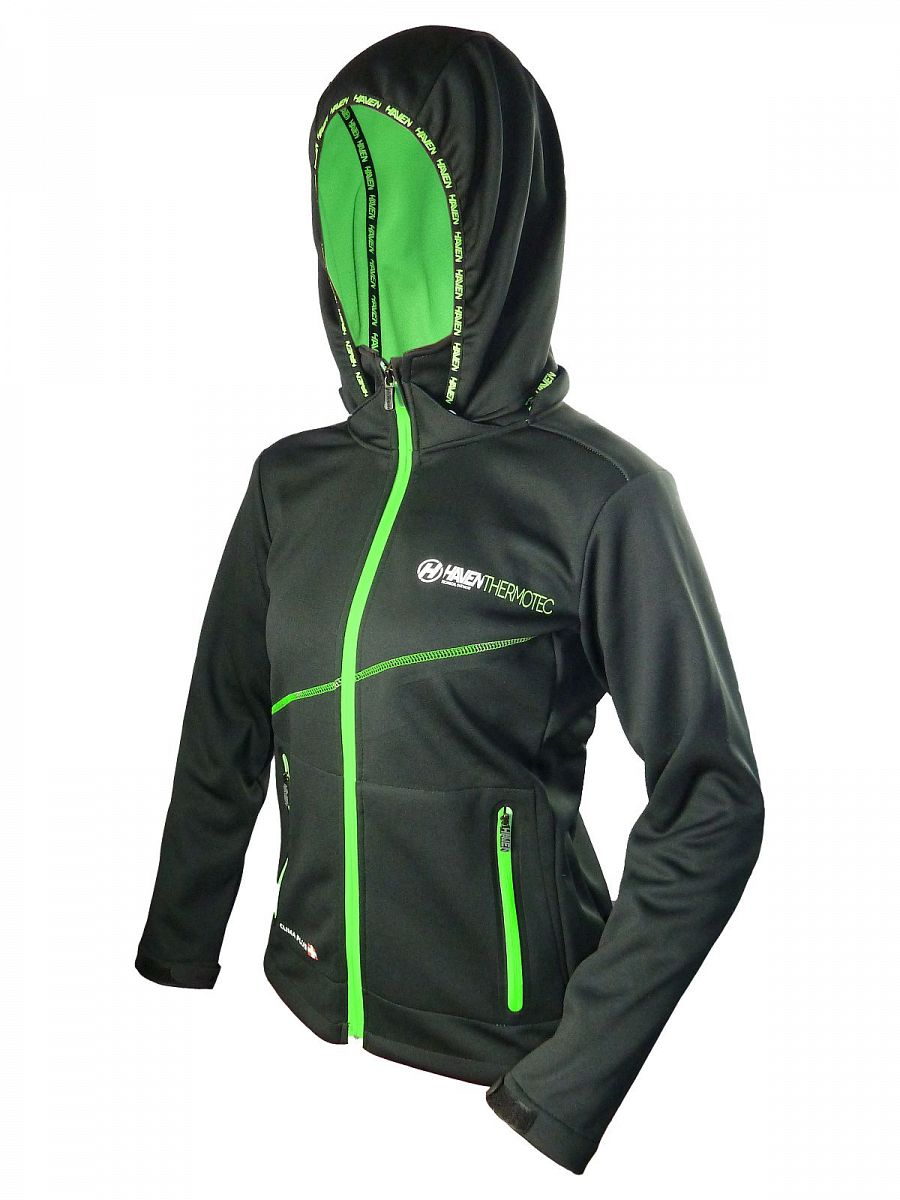 Dámská bunda Haven Thermotec black/green