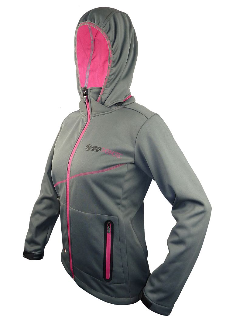 Dámská bunda Haven Thermotec grey/pink