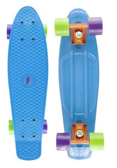 Pennyboard Nils Fishboard Basic blue