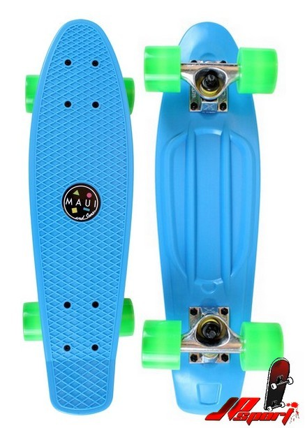 Pennyboard Maui & Sons Street Shark blue