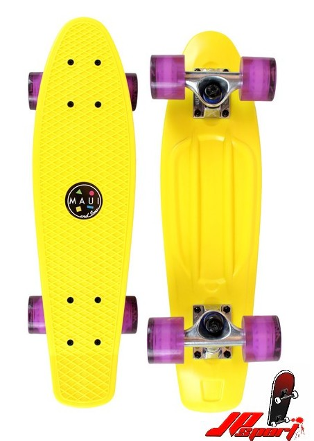 Pennyboard Maui & Sons Street Shark yellow