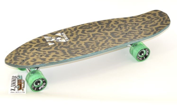 Cruiser JIMMY´Z Micro Kicktail Leopard