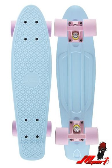 Pennyboard Nils Fishboard Basic Light Blue