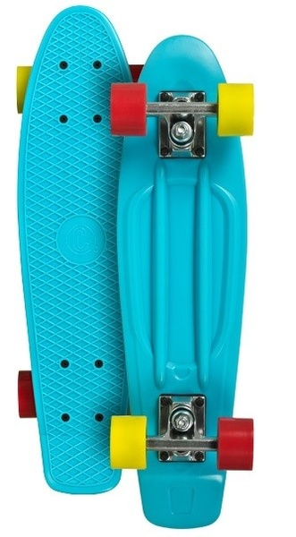 Pennyboard Playlife Vinyl Board Cyan