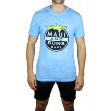 Triko Maiu Shark Attack Blue