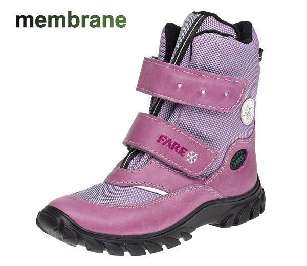 Dívčí zimní nepromokavé boty Fare 2646154 e20996edfe
