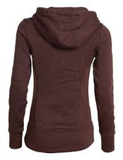 woox-tune-fleece-ladies-button-brown-z