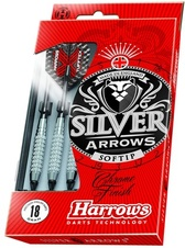 Šipky Harrows Silver Arrows soft 18g