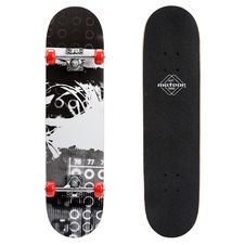Skateboard Meteor Wooden Black